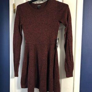 Express cashmere sweater dress